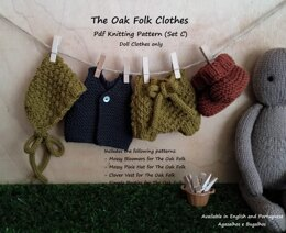 Clothes for The Oak Folk Set C