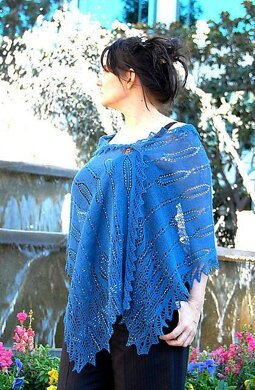 The Witches of Lake Enara rectangular shawl