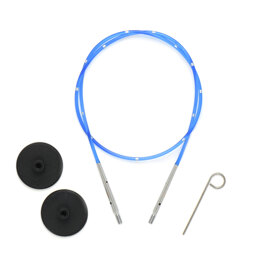 Knitter's Pride Smart Stix Blue Single Cord - 16in to make 24in needle Cable Needle (1 Piece)
