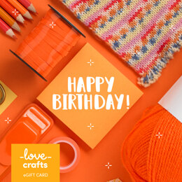 LoveCrafts eGift Card - Happy Birthday 3