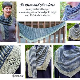 The Diamond Shawlette