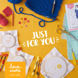 LoveCrafts eGift Card - Just For You