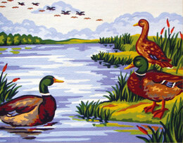 Collection D'Art Mallard Lake Tapestry Kit - 22 x 30cm