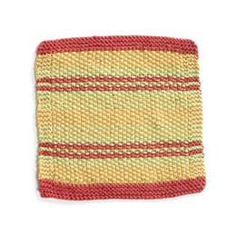 Myrtle Beach Washcloth in Lion Brand Cotton-Ease - 90387AD
