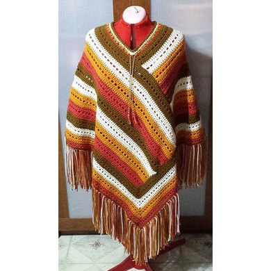 Autumn Morning Poncho