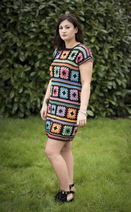 Glastonbury Granny square Dress
