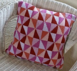 Paper kites cushion cover