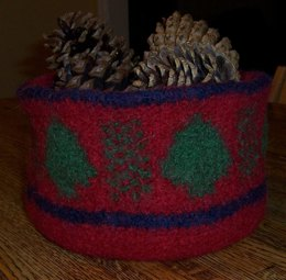 Christmas Bowl (felted)
