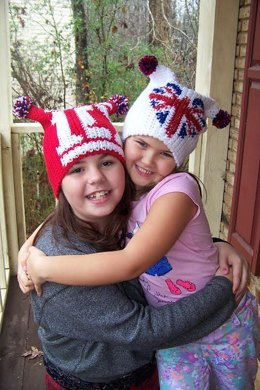 Graphed Beanie - 1Direction and Union Jack Heart
