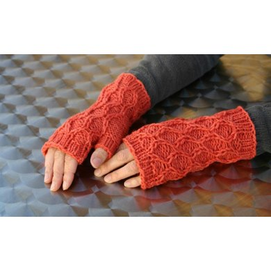 Bas Relief Mitts