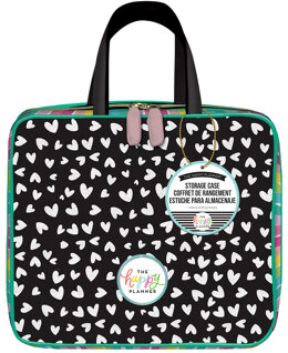Me & My Big Ideas Happy Planner Storage Case - Scattered Hearts