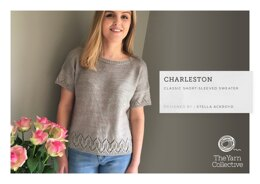 Charleston Sweater by Stella Ackroyd in The Yarn Collective - Downloadable PDF