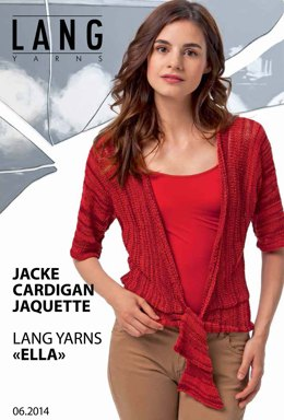 Cardigan in Lang Yarns Ella