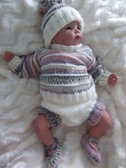 Romper outfit for 0-3 month babies