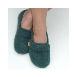 Felted Ladies Slip-ons