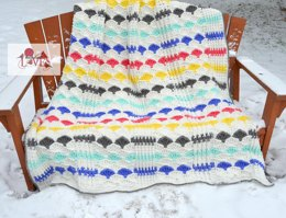 Mary Quite Contrary Afghan