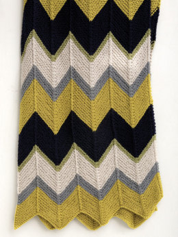 Updated Ripple Afghan in Lion Brand Vanna's Choice