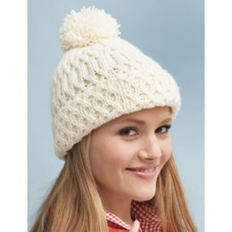 Aran Hat in Bernat Super Value