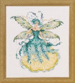 Mirabilia MD 159 March Aquamarine Fairy Cross Stitch Pattern - 2008055 -  Leaflet