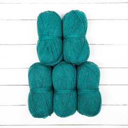 Just Yarn Acrylic Aran 5 Ball Value Pack