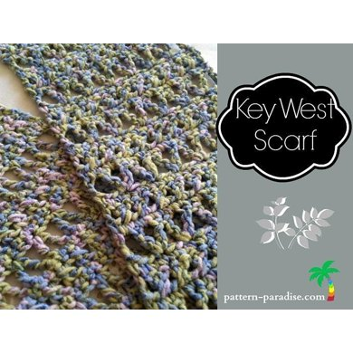Key West Scarf, PDF 12-060