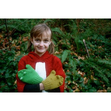 Frog and Toad Mittens