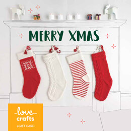 Lovecrafts eGift Card - Merry Xmas