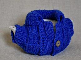 The Blue Tea Cosy knitted Pattern