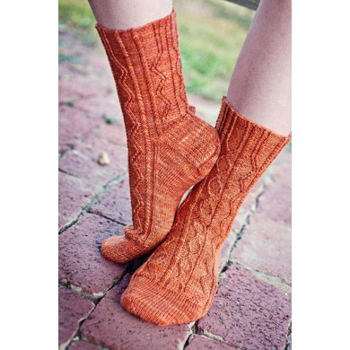 Two-Horse Hitch Socks