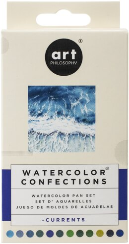 Prima Marketing Prima Watercolor Confections Watercolor Pans 12/Pkg - Currents