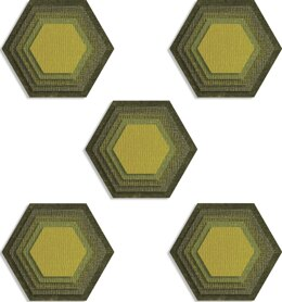Sizzix Thinlits Dies By Tim Holtz - Stacked Tiles, Hexagons