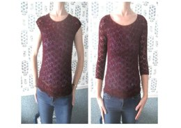 Ruby Lace Top