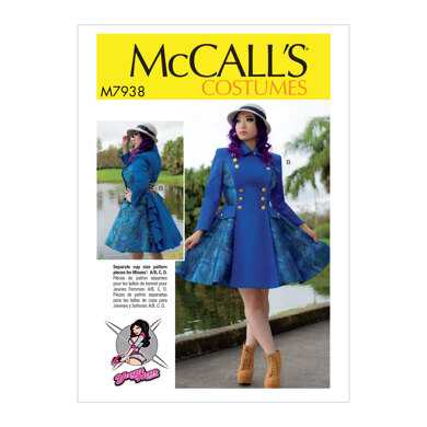 McCall's Misses' Costume M7938 - Sewing Pattern