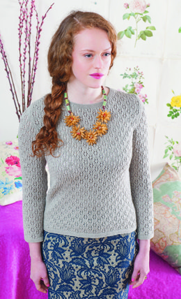 Lewes Jumper in Rooster Baby Rooster - Downloadable PDF