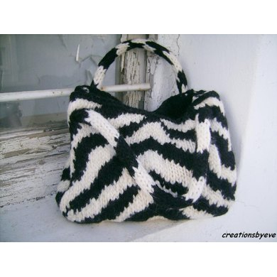 The zebra bag pattern