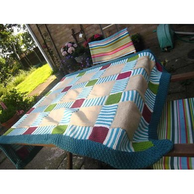 Traditional Patchwork Throw