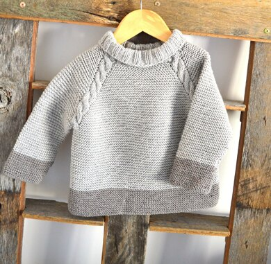 Driftwood Sweater, Top Down - P127