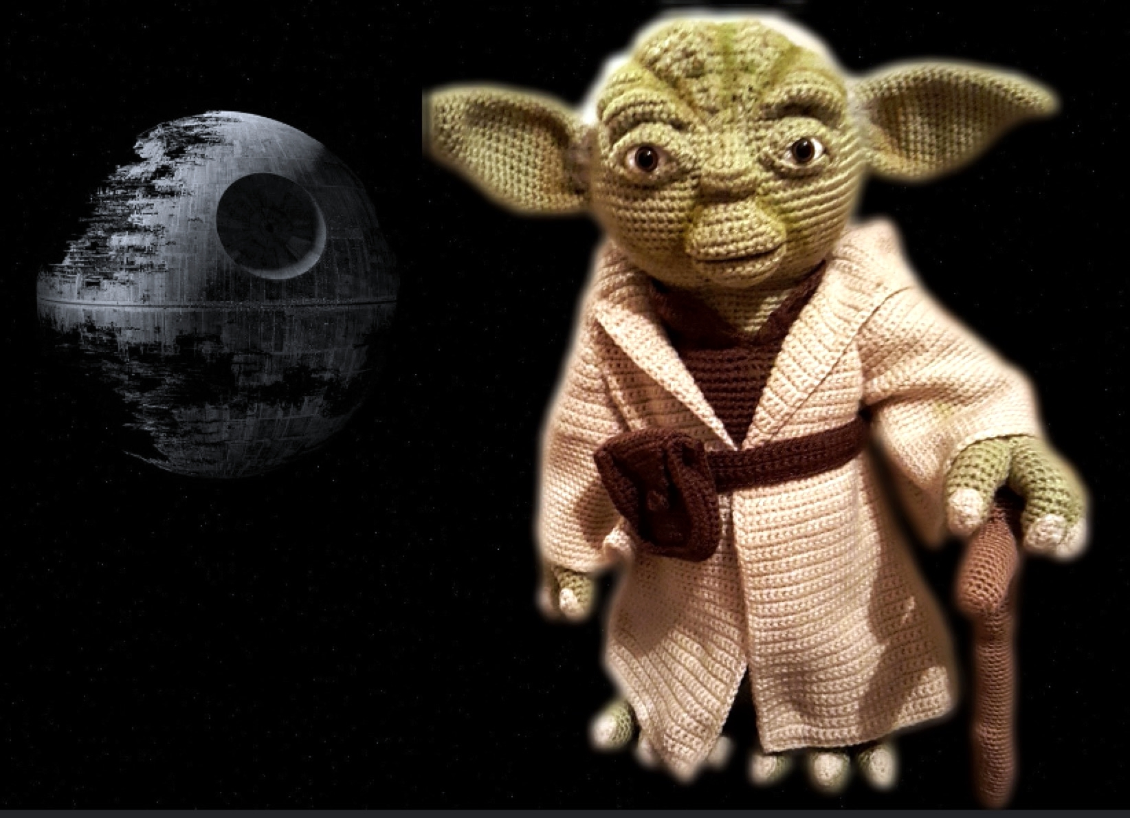 Yoda inspired Life Size Amigurumi crochet project by ...