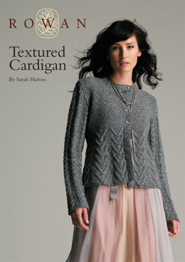 Textured Cardigan in Rowan Felted Tweed