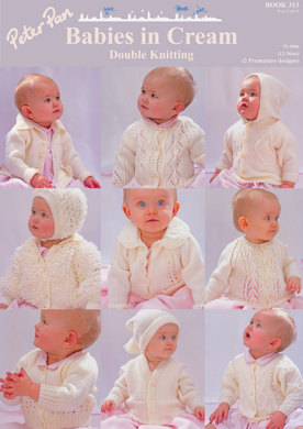 Peter Pan Babies in Cream Double Knitting - 313