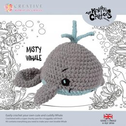 Creative World of Crafts Knitty Critters Misty Whale - 45cm