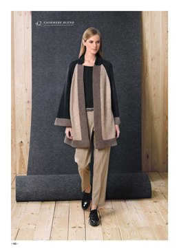 Coat in Katia Cashmere Blend