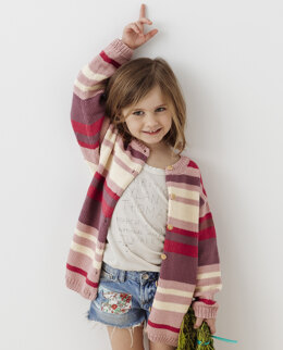 Josette Cardigan in Phildar Phil Ecocoton - Downloadable PDF
