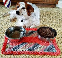 The Dog Needs a Placemat Too