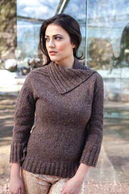 Delany Sweater in Berroco Blackstone Tweed - NG13-12