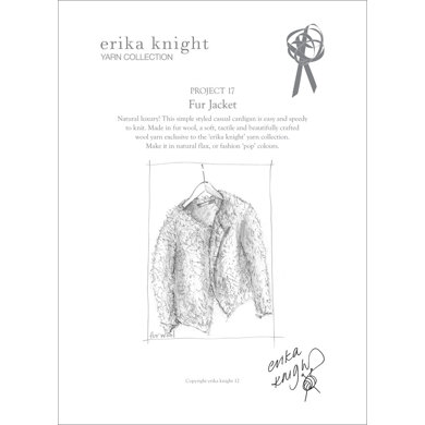 Fur Jacket in Erika Knight Fur Wool