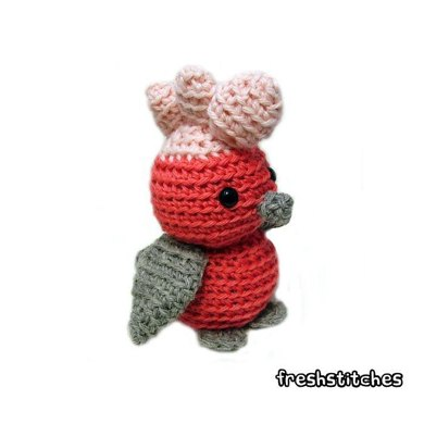 Amigurumi Doug the Galah