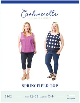 Cashmerette Springfield Top 2102 - Sewing Pattern
