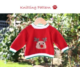 Red Nosed Reindeer Sweater