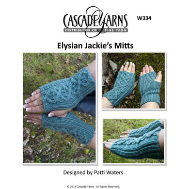 Jackie's Mitts in Cascade Elysian - W334